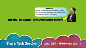 VIDEO – How to test a web service using QTP with the web service add-in post image