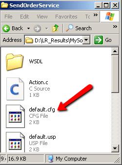 LoadRunner web_service_set_security Action Mismatch error