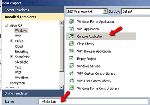 Selenium WebDriver Using Chrome WebDriver in Visual Studio C#