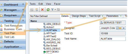 UFT API – How to Data Drive Scripts Using ALM Resource