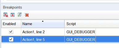 How to use the HP UFT Debugger