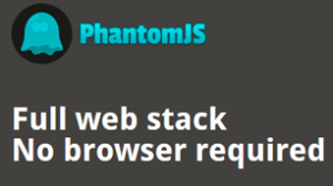 phantomJS headless browser