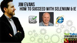 Jim Evans Selenium IE