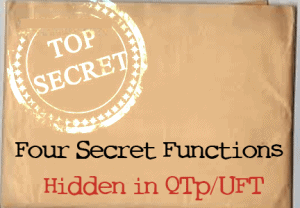 Revealed: Four Secret Functions Hidden in QTP and UFT post image