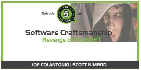 ScottNimrodSoftwareCraftsmanshipSDET