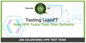 HPE LeanFT Test Talks