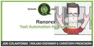 Ranorex Test Talks