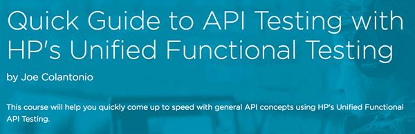 API Testing Course