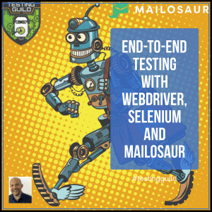 End-to-End Selenium Email Tests with Mailosaur
