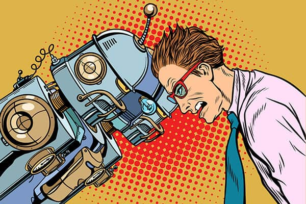 Man Vs AI Robots