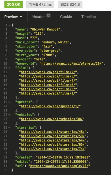 REST API JSON