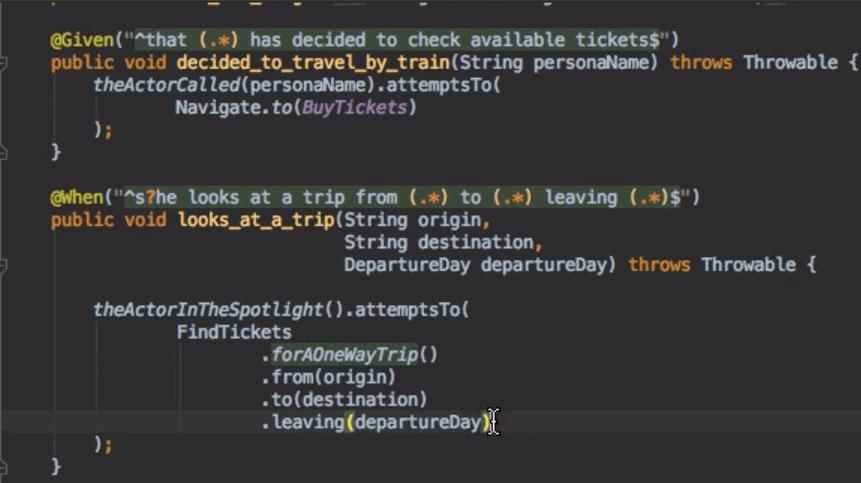 ScreenPlay Pattern Example