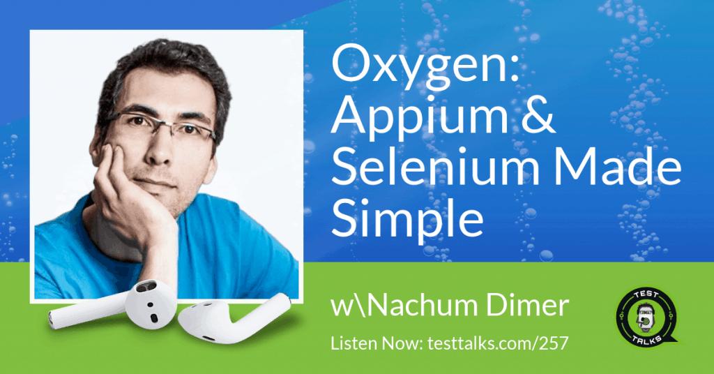 Oxygen Automation Tool Podcast Promo