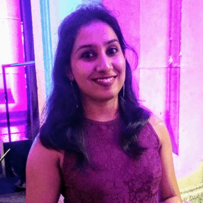 Aparna Gopalakrishnan Headshot