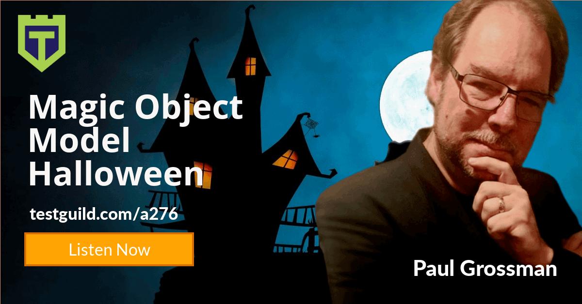 halloween with Paul Grossman