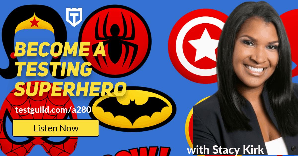 Stacy Kirk Super Hero
