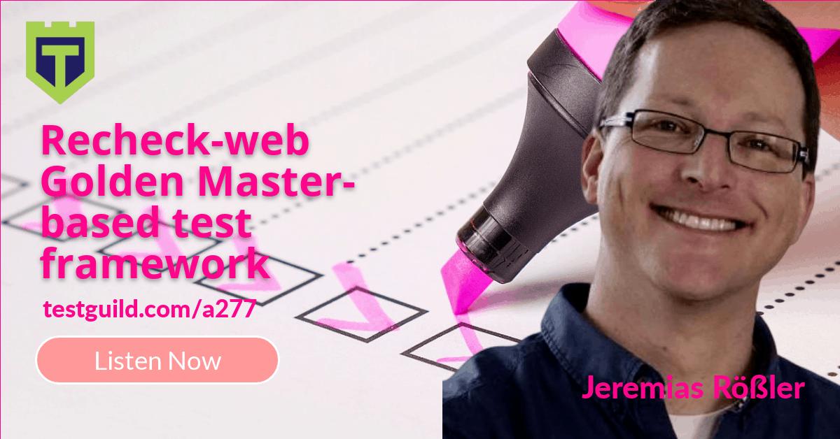 ReCheck Web with Jeremias Rößler