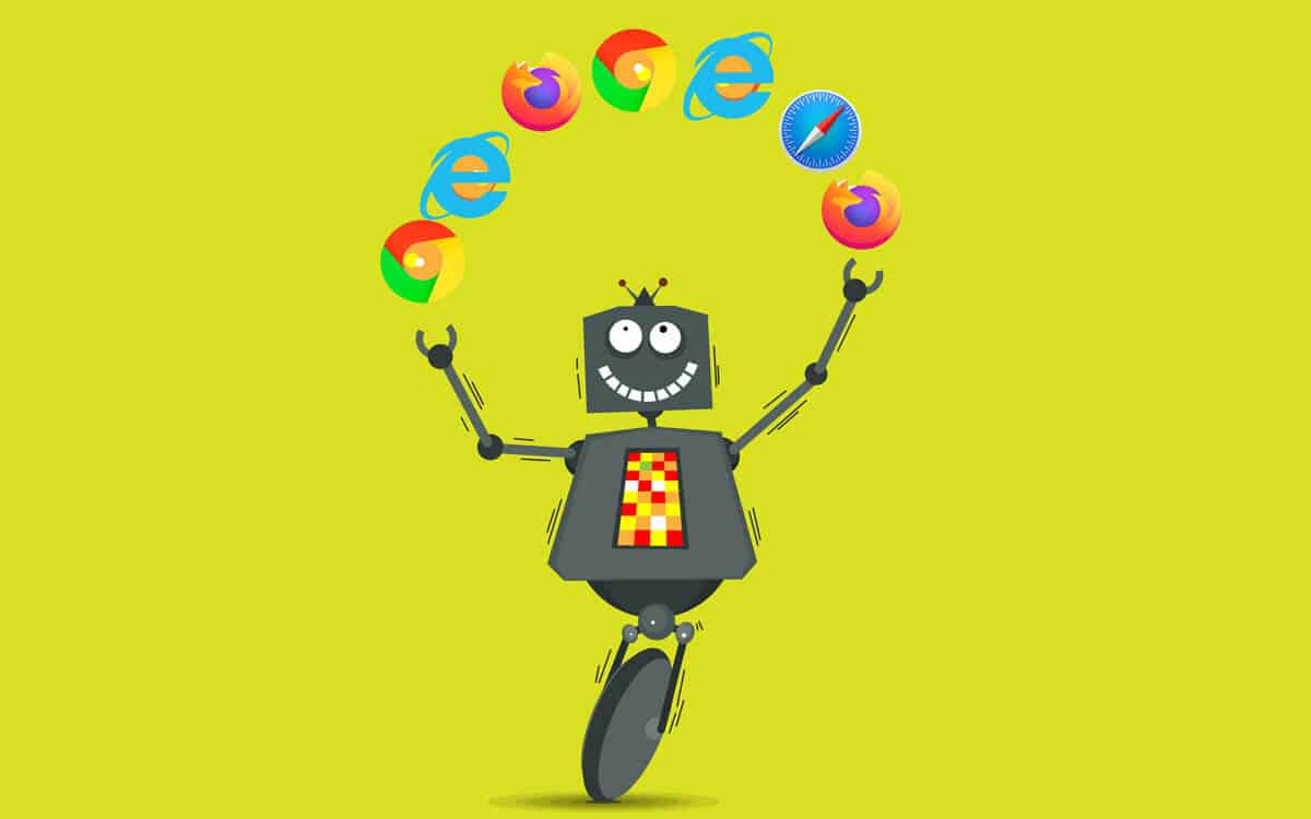 Robot Juggling Browsers
