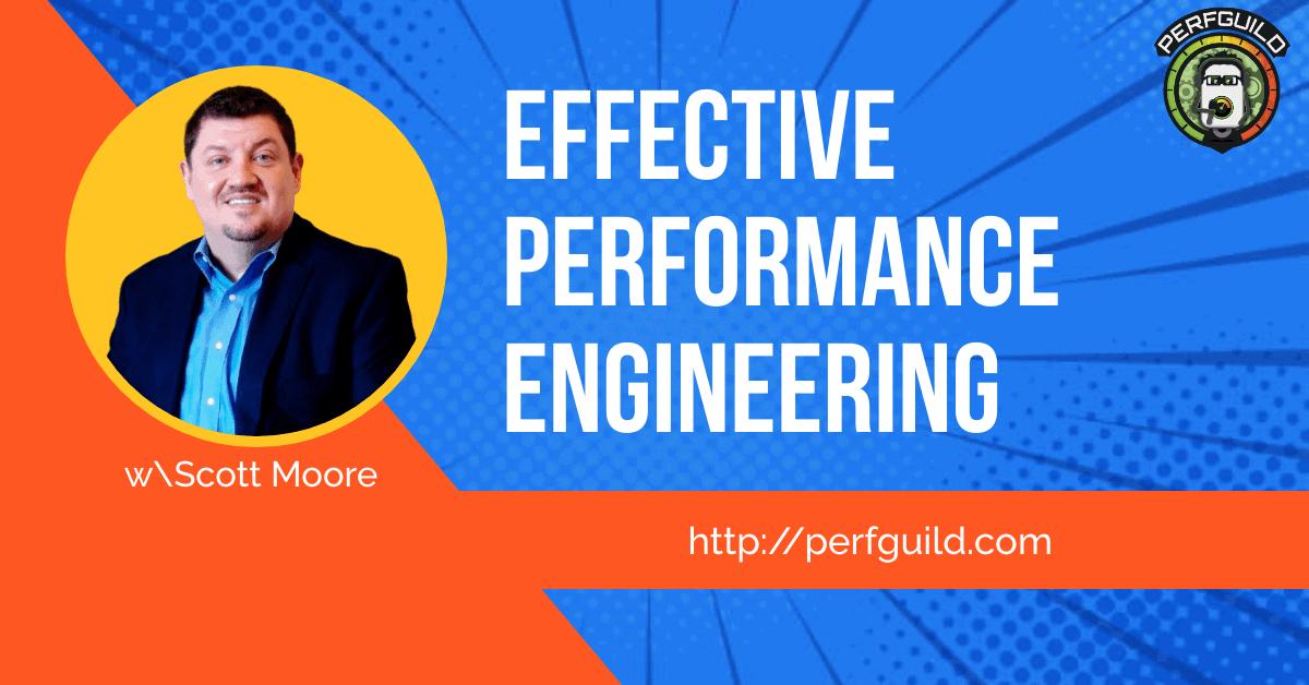 Scott Moore Performance Engineering