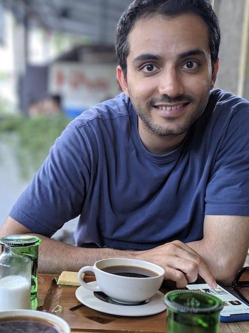arjun Attam headshot
