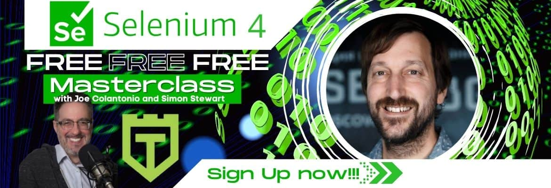 Selenium 4 Master Class Cover
